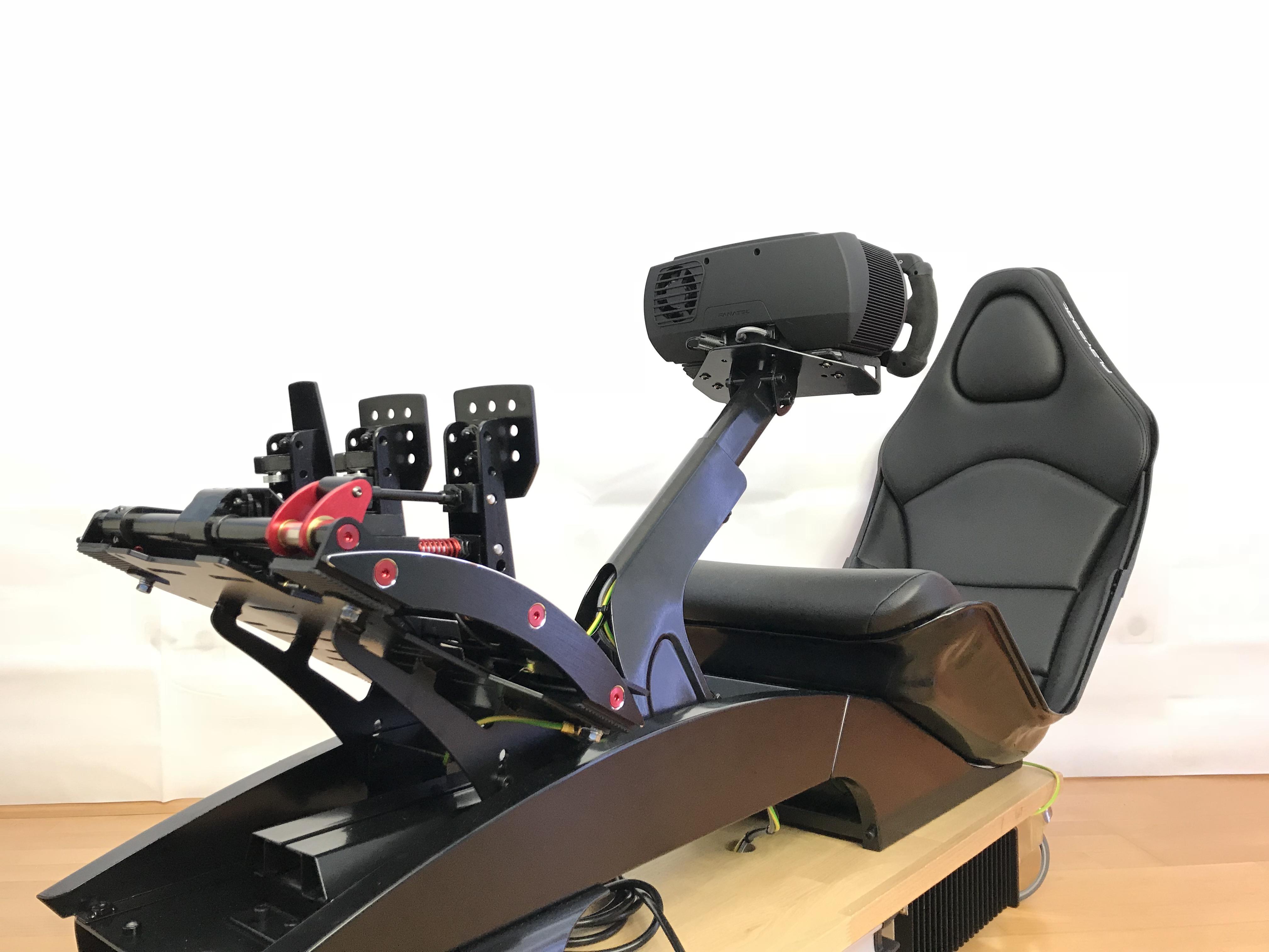 Vr brille für raceroom : F rennsimulator tag oculus rift vr mit auf und abbau